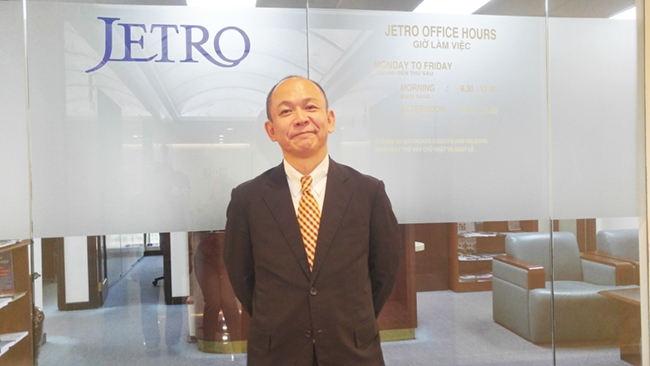 Ông Takimoto Koji – Trưởng đại diện JETRO tại TP. HCM