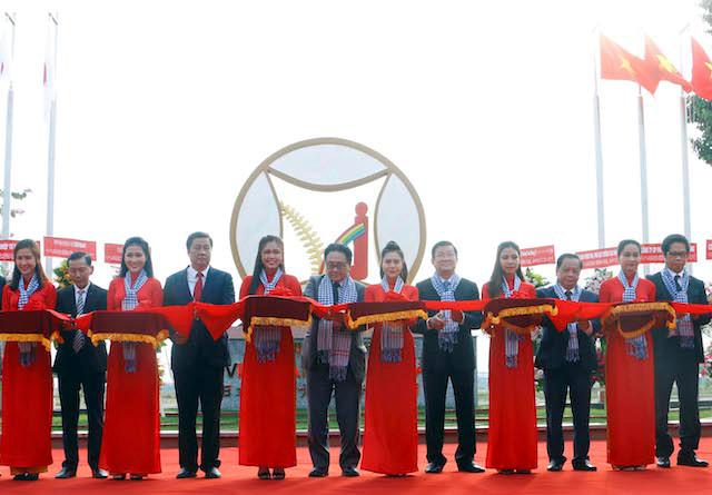 Sáng 3/11, UBND TP Cần Thơ khánh thành Khu công nghiệp hữu nghị Việt Nam - Nhật Bản với diện tích 30 ha, trong Khu Công nghiệp logistic tại quận Cái Răng. Ảnh:Thanh Liêm.