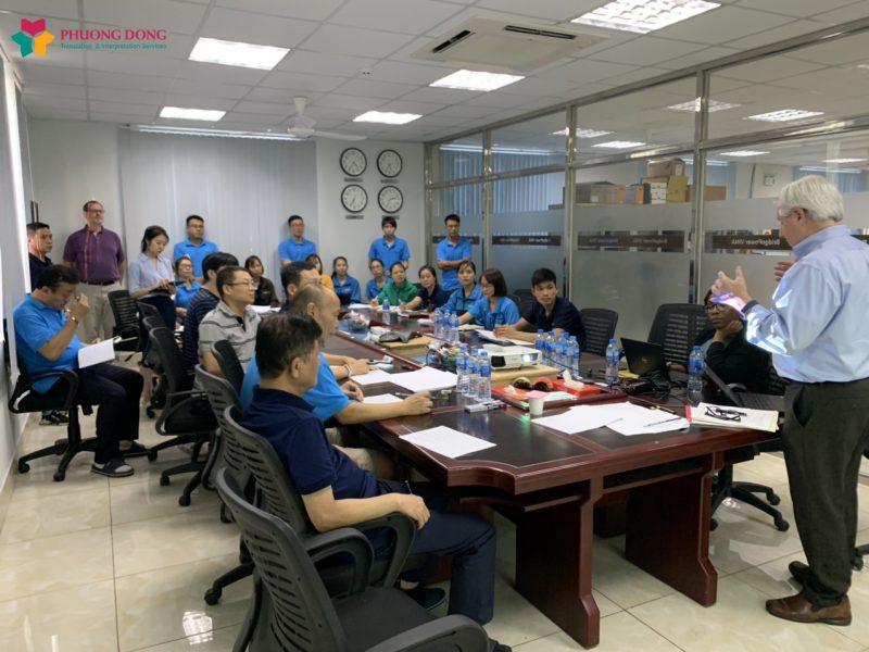 Dự án phiên dịch cho Bridgepower Vina  tại Phú Thọ